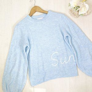 Lauren Conrad | Women's Blue Sunday Sweater